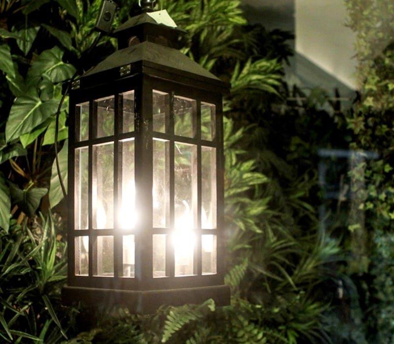 Lanterna para sua casa e jardim na XMAS e Decor