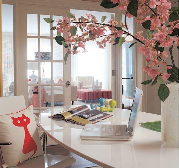 decorar sua casa com flores