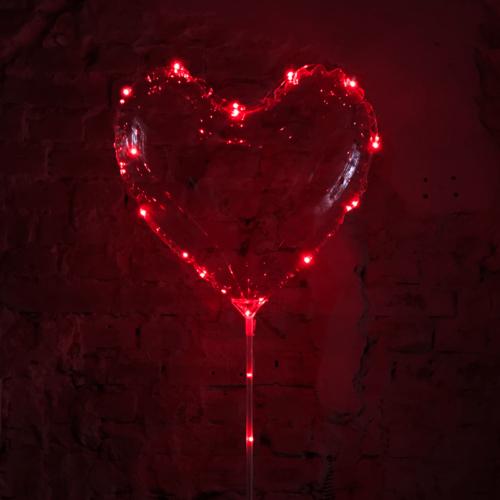 Bexigas de coração